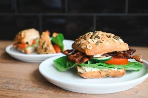 Sandwich Snack Rezept Banner