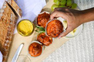 Herzhafte Muffins mit Feta Rezept Wurzelsepp
